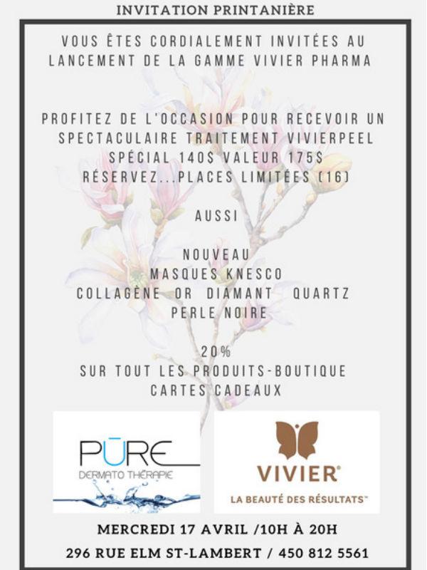 Invitation Printanière